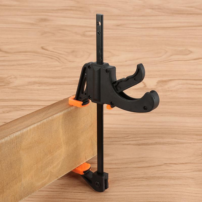 Зажимы для деревообработки, быстросъемный зажим с храповым механизмом F, для работы по дереву