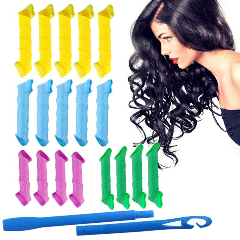 Auxiliary-Tool Curler Rollers Spiral-Ringlets Leverage Magic-Hair Styling Natural-Way