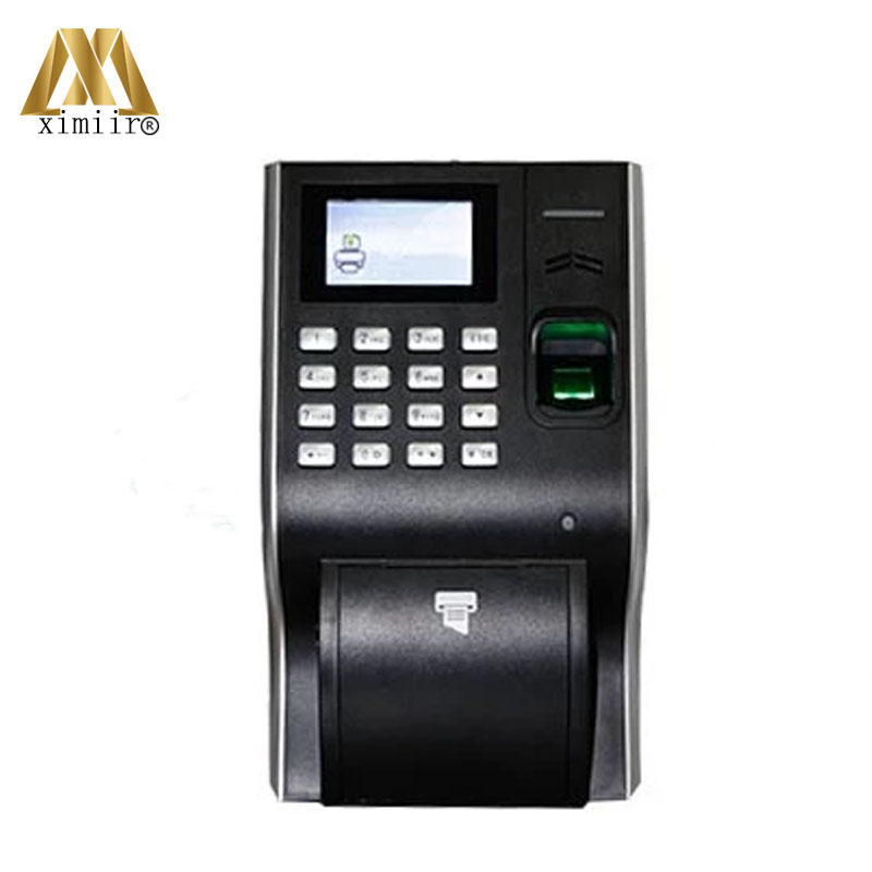 LP400 High Quality Biometric Fingerprint Time Attendance Thermal Printer 13.56MHz IC Card Time Recording