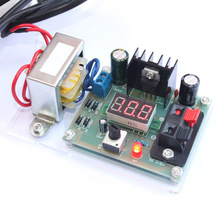 DIY AC 220V to DC 1.25V-12V LM317 Adjustable Voltage Power Supply Moudle DIY Kit Electronic