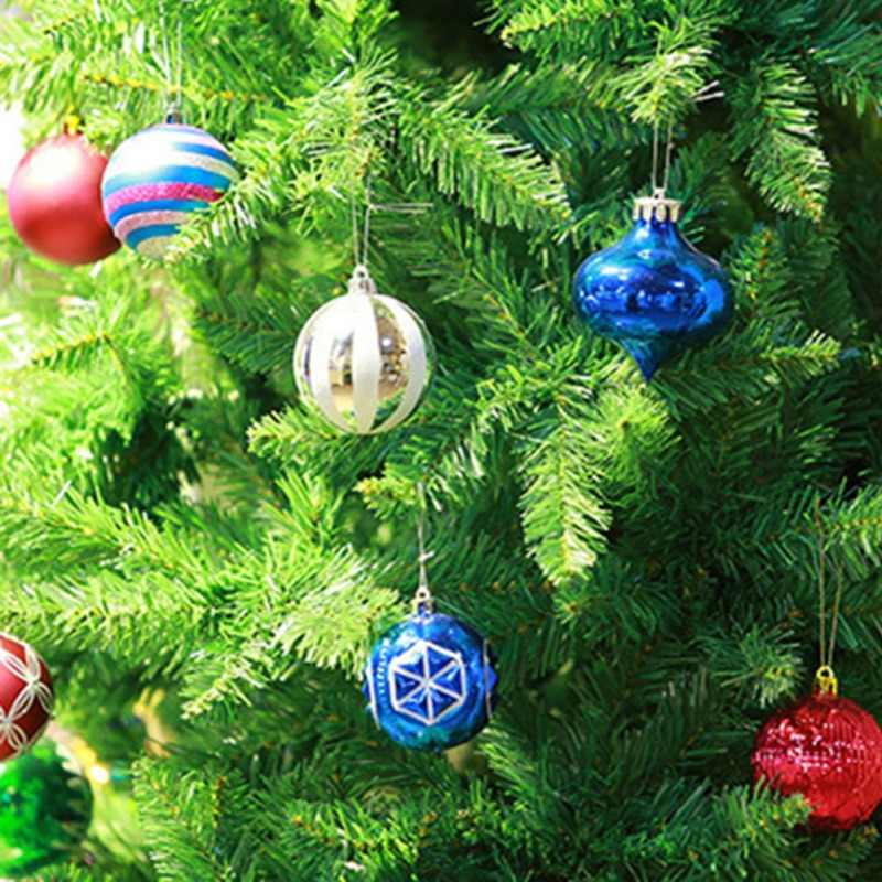 Decorazione di natale Palle Set di 6PCS Decorazione Di Palla di Natale Palla A Specchio Della Fase Sfera Riflettente Decorazione di Festival Del Partito