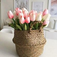 5/10/20 sztuk tulipan sztuczny kwiat prawdziwy dotyk sztuczny tulipan bukiet sztuczny kwiat dla domu prezent ślubne dekoracje kwiatowe