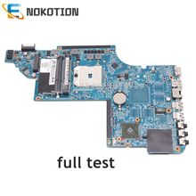NOKOTION 665282-001 pour HP pavillon DV6 DV6-6000 carte mère d'ordinateur portable Socket fs1 DDR3 test complet