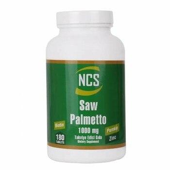 NCS Saw Palmetto 1000 Mg Pumpkin Biotin Zinc Complex 180 Tablet