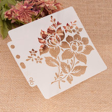 Decorative-Card-Template Embossing-Album Layering Stencils Wall-Painting Scrapbook-Coloring