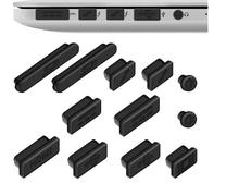 For Apple MacBook Pro Retina 13″ 15″/ Air 11″ 13″ (from mid 2011 to mid 2016) Dust plug Protector Anti-dust Protection Set