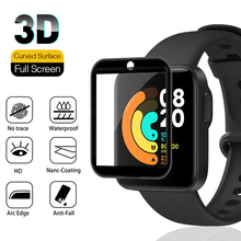 Pellicola salvaschermo 3D per Xiaomi Mi Watch Lite Redmi Watch pellicola protettiva morbida su Xiaomi Red Miwatch Smartband vetro non temperato