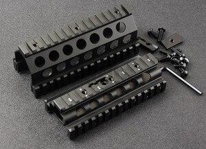 Тактический M249 20 мм Пикатинни перила системы Алюминиевый CNC Охота Стрельба M8189