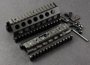 Táctico M249 20 mm riel picatinny guardamanos Sistema de aluminio CNC de caza tiro M8189