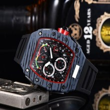 2020 Wholesale Mens Fashion Luxury watch Stainless Steel All Dial Work Chronogra