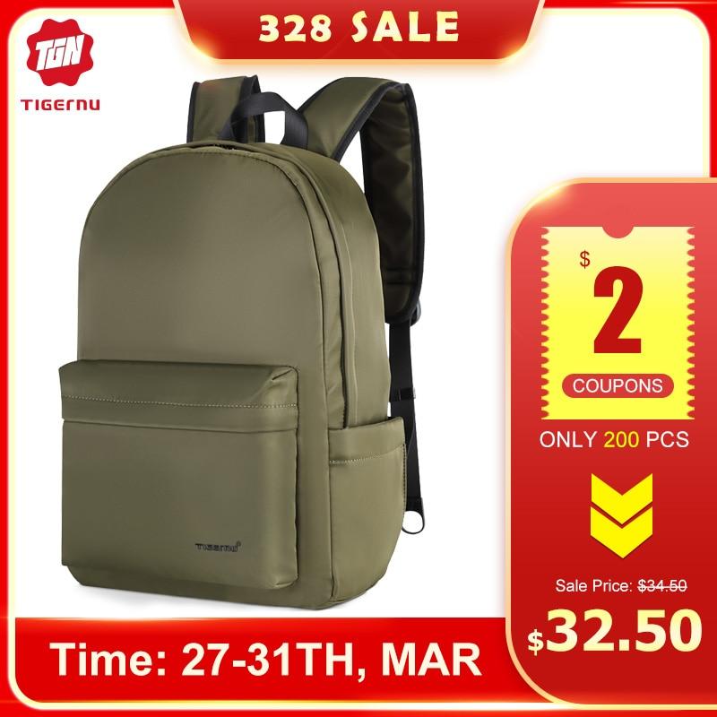 2020 Tigernu New Anti Thief Fashion TPU Man Backpack Light Weight Multi-layer Notebook Backpack Laptop Bag Men Backbag