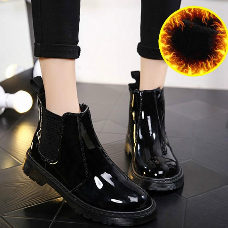 Новинка 2019 года; женские резиновые сапоги из ПВХ; непромокаемые сапоги до щиколотки; Модные непромокаемые прозрачные женские сапоги; обувь