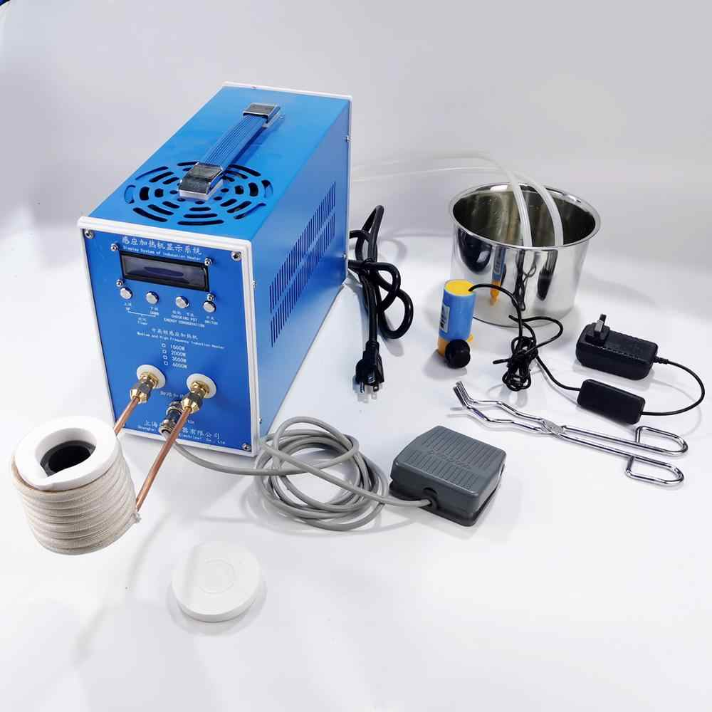 2700W ZVS Induction Heating Heater Miniature Metal Quenching Melting Furnace