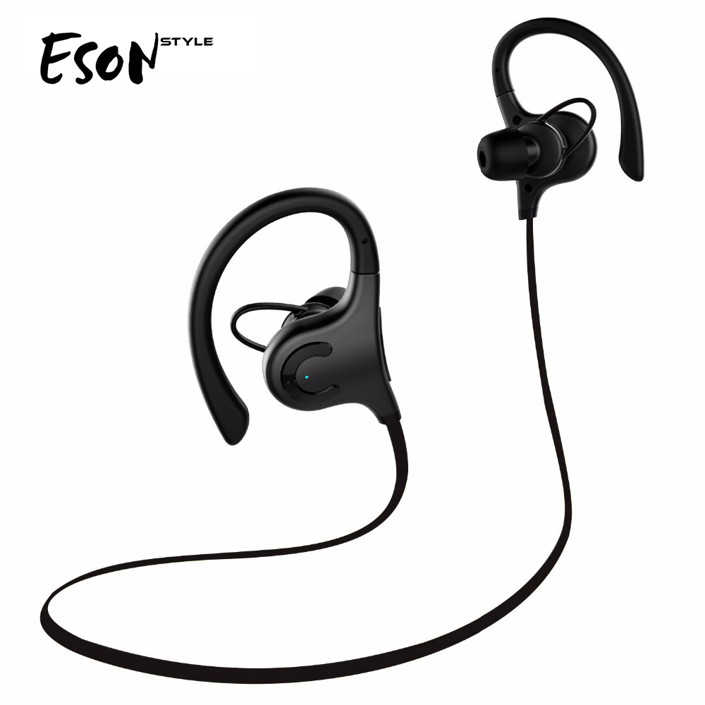 Ecandy Neckband Bluetooth Headphones Stereo portable music wireless Headset for Iphone Android Sport Running Earphone with Mic