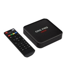 Q96 PRO Android 7.1 Smart TV Box Amlogic S905 Quad-Core 64 Bit H.265 UHD 4K 1GB / 8GB 2.4G WiFi 100M LAN HD Media Player with Re(China)