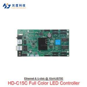 Image 1 - 2020 Huidu HD C10 C10C C30 Upgrade Zu HD C15 C15C C35 C35C Die 3th Generation von Asynch Vollfarb led bildschirm steuer Karte