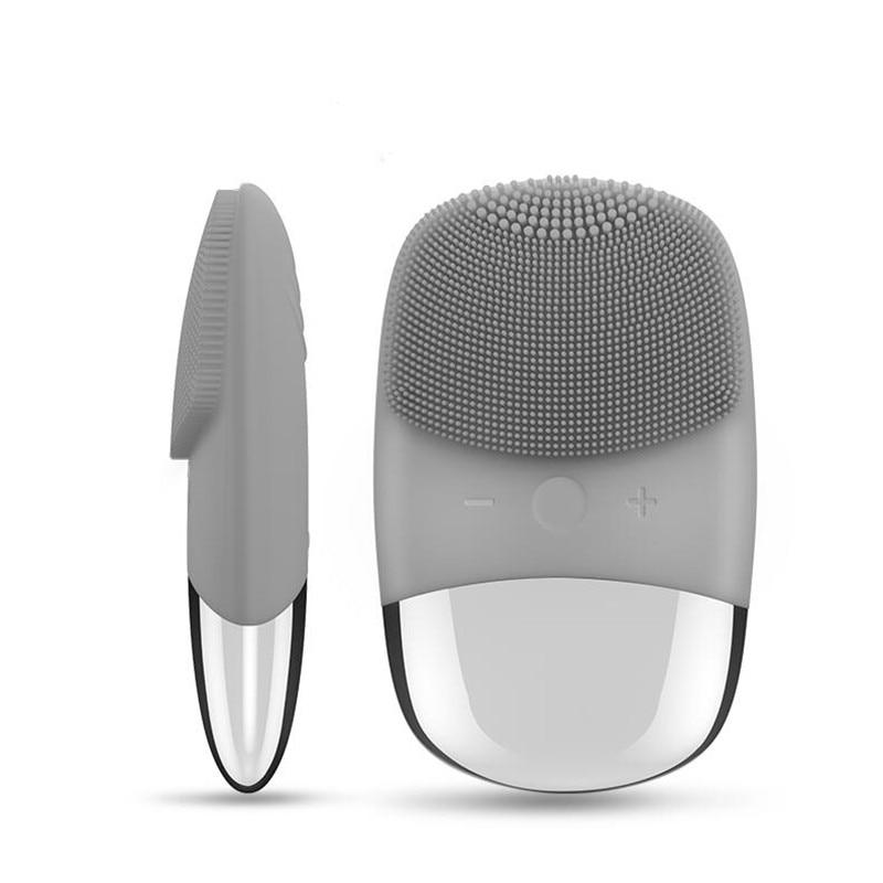 Вибрационная щетка для очищения лица Luna Mini 2 силиконовая электрическая ультразвуковая щетка для очищения лица водостойкая щетка для удален...