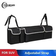 Vehemo Высокая емкость сумка на спинку кресла Универсальный многофункциональный автомобильный органайзер для багажника сумка для хранения на заднем сиденье держатель