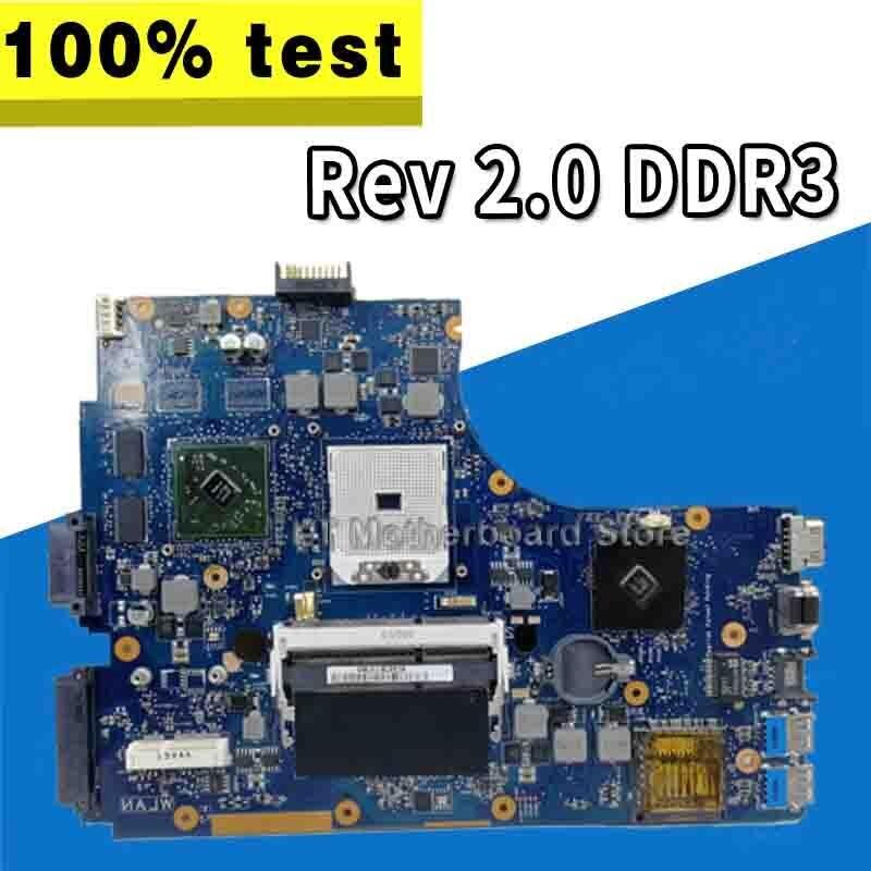For ASUS A55DR K55DR Motherboard K55DE Rev 2.0 DDR3 With Graphic Card Test Good
