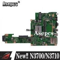 Neue! Akemy X553SA Motherboard W/ N3700/N3710 CPU Für For Asus X553SA X553S X553SA F553S A553S Mainboard 100% test OK