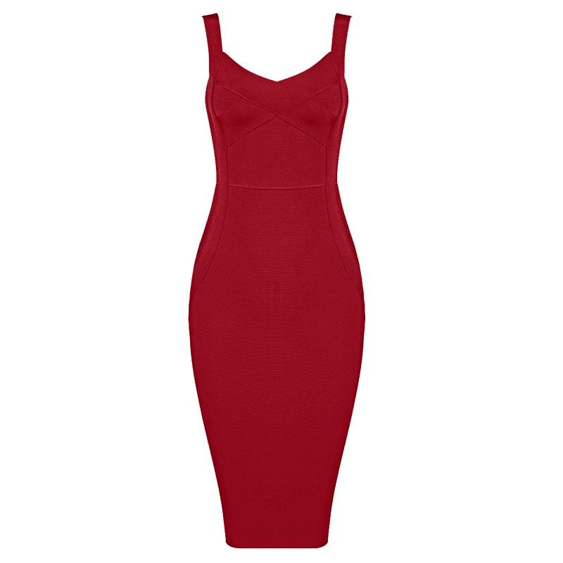 GVN Rocks Women's Rayon Bandage Bodycon Dress