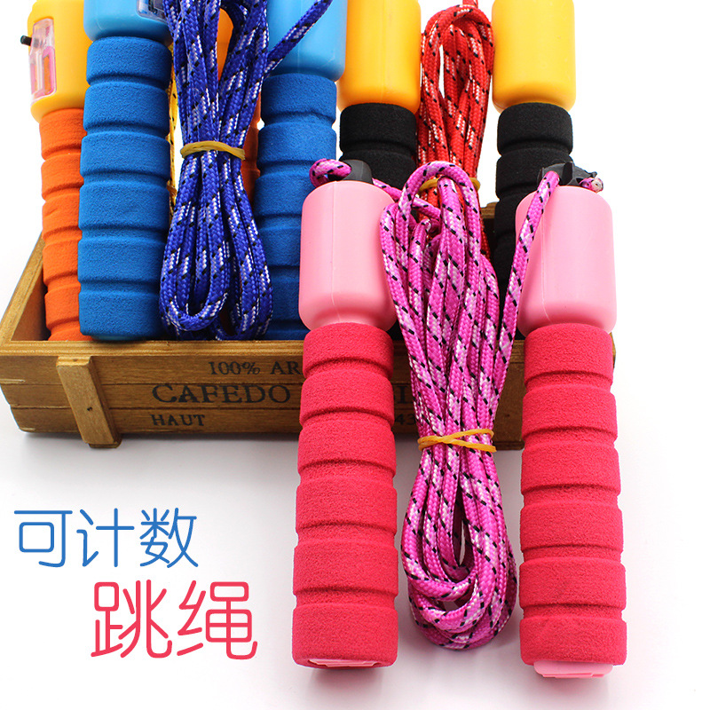 Profession Men And Women Sports Jump Rope With Count Jump Rope Single Person Students The Academic Test For The Junior High Scho
