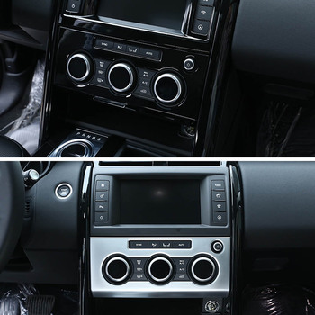 Console dashboad Audio air button model decorative sticker cover trim for land rover discovery 5 LR5 Interior Accessories