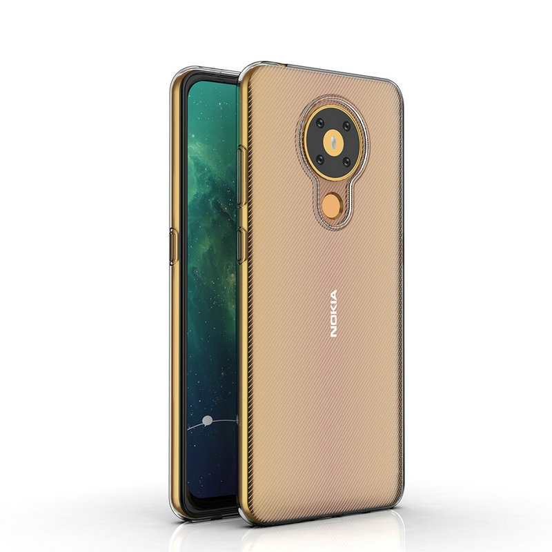 Transparent Silicon Fall für Nokia 3,4 für Nokia 5,4 TA-1333 TA-1340 Telefon Abdeckung Fall Etui