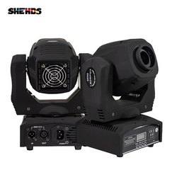 Foco LED de 60W, luz con cabezal móvil Gobo/patrón de rotación, enfoque Manual con controlador DMX para proyector, Dj, discoteca, iluminación de escenario