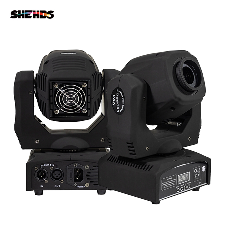 LED Spot 60W Moving Head Light Gobo/Pattern Rotation Manual Focus With DMX Controller For Projector Dj Disco Stage Lighting