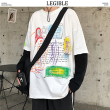 LEGIBLE Hot Sale O-Neck T Shirt Men 2020 Summer Fashion Funny Printed Short Sleeve T-Shirts Men Loose Fit Mens Top Tees Shirt legible hot sale o neck t shirt men 2020 summer fashion funny printed short sleeve t shirts men loose fit mens top tees shirt