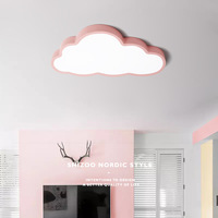 SOLLED 36W/48W LED Cloud Shape Ceiling Lamp Baby Kids Bedroom Lighting 220V White Non dimmable