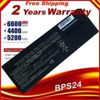 New 6 cell 5200mah laptop battery VGP-BPL24 VGP-BPS24 for sony VAIO S SA SB SC SD SE SVS VPCSA VPCSB VPCSC VPCSE VPCSD Series