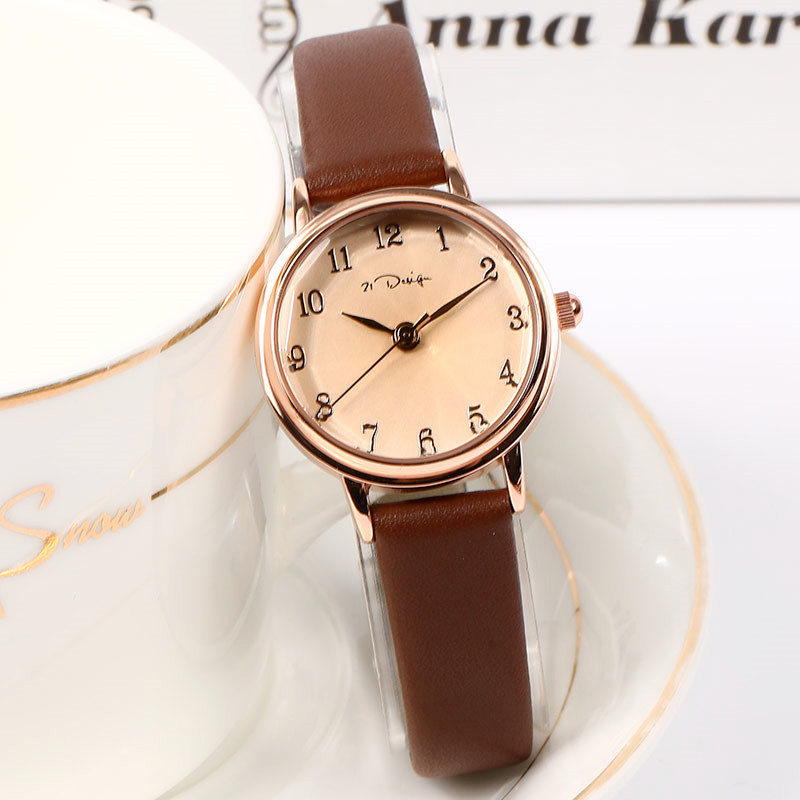 Exquisite Classical Women Watches Rose Gold Simple Casual Women's Watch Fashion Retro Minimalist Small Clock Relogio Feminino