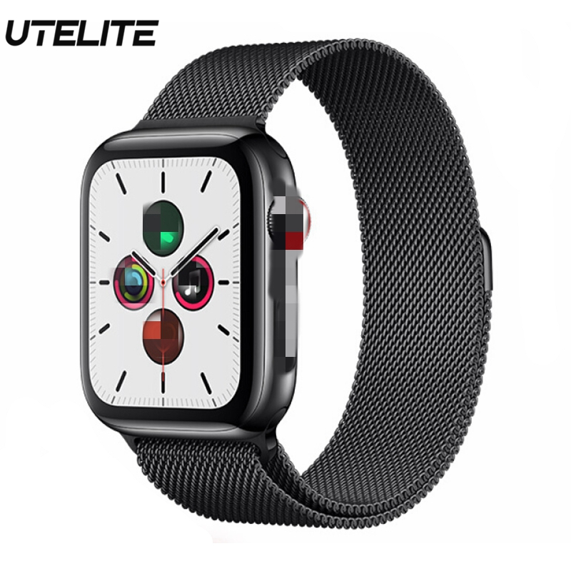 UTELITE iwo 12 Smart Watch ECG Siri Fitness Tracker Band 230mAh Large Battery Bluetooth Band Watch 5 for Android IOS Apple Phone image