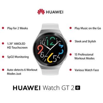 HUAWEI WATCH GT 2e Original 100 Sport Modes gt2e 5ATM Smart Watch 1.39 2