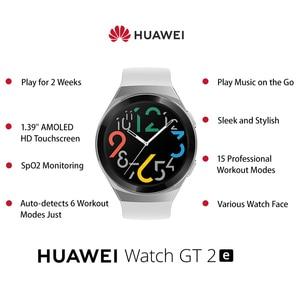 "Image 2 - Huawei Horloge Gt 2e Originele 100 Sport Modi Gt2e 5ATM Smart Horloge 1.39 ""Amoled 2 Weken Standby Sport Horloge gt Lite Waterdicht"