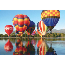 Jigsaw-Puzzle Hot-Air-Balloon 1000pieces Paper Educational-Game-Toys Adults