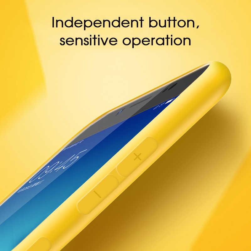 Caso de Telefone de Silicone Para Samsung Galaxy A7 2018 S10 S8 S9 Plus Nota 10 Pro Plus S10e Capa À Prova de Choque Capa para Samsung Nota 9 8
