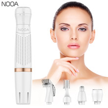 NOOA 4 IN 1 Women Electric Shaver For Women Painless Hair Removal bikini Electric facial Epilator eyebrow trimmer Hair removal