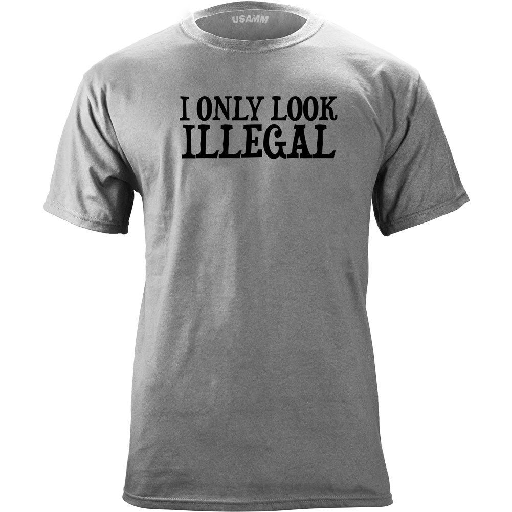 Original I Only Look Illegal <font><b>Protest</b></font> T-Shirt Summer Men'S fashion Tee,Comfortable t shirt,Casual Short Sleeve TEE 2019 hot tees image