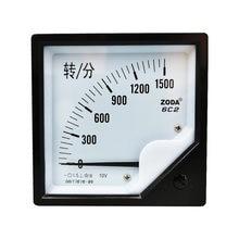 6c2 dc Тахометр 1500 об/мин/10 в об/мин датчик возбуждения указатель