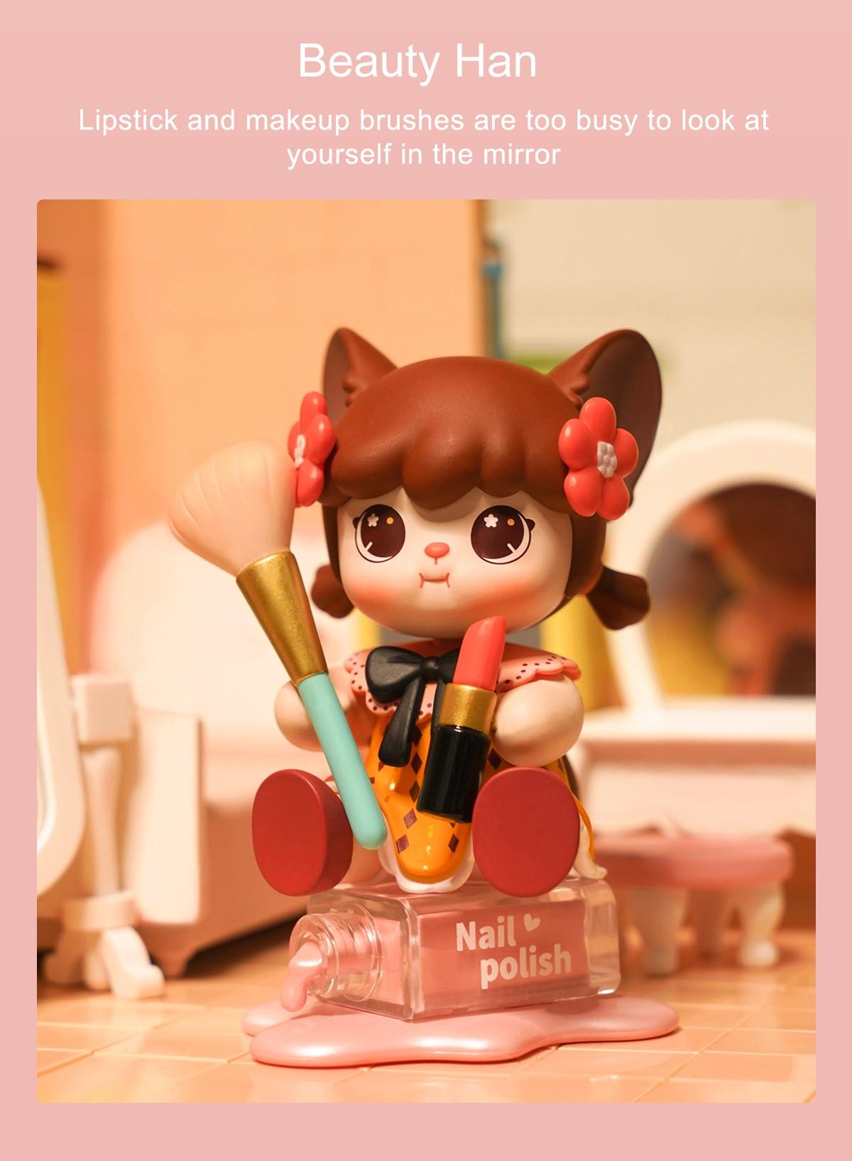 Rolife Blind Box Figure Surprise Dolls - Hanhan Nai Hanle Series
