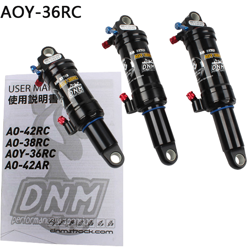DNM AOY-36RC 165mm 190mm 200mm Mountain Bike Bicycle Air Rear Shock With Lockout