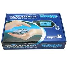 Two way Car Burglar Alarm keychain TAMARACK RC Anti theft Device System Russian version Two Way Other For Twage B9