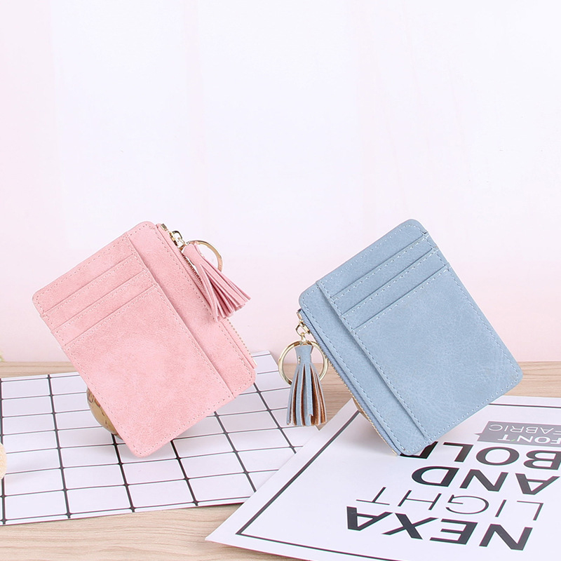 Business Women Credit Card Holder PU Travel Wallet Female Purse For Cards Protection Cardholder Women Bank Card Passport Holder