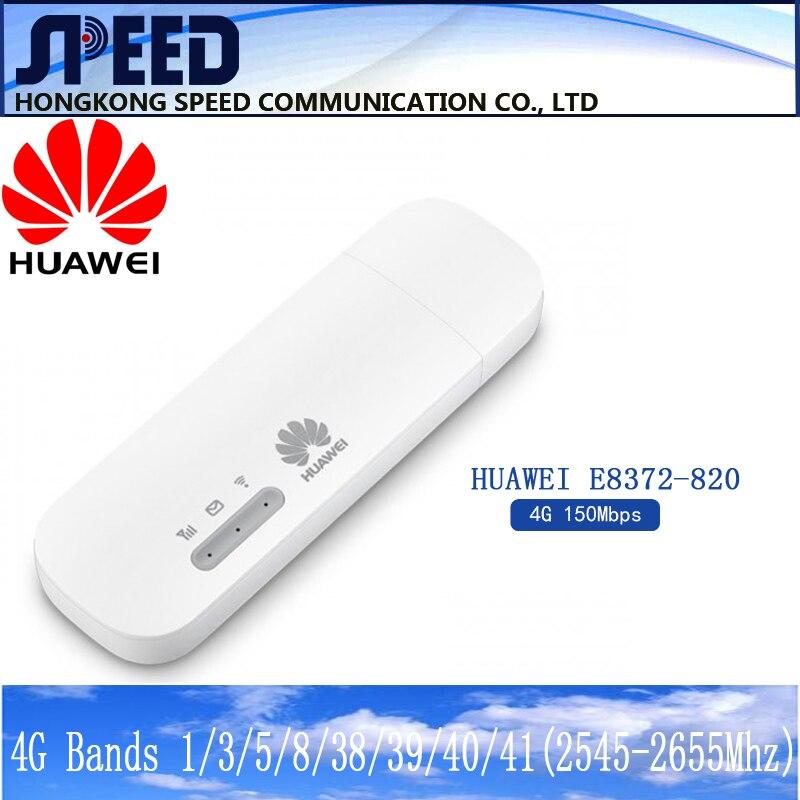 Разблокированный Huawei E8372h-820 e8372 Wingle LTE Универсальный 4G USB модем WIFI мобильный поддержка 16 Wifi пользователей
