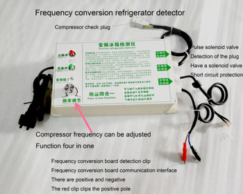 Four-in-one Refrigerator Tester Frequency Converter Plate Pulse Electromagnetic Valve for Refrigerator Compressor
