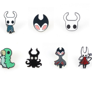 Hollow Knight brooch Lapel Pin Enamel Brooches backpack bags badge clothes Gift for Women Men Kids fashion jewelry