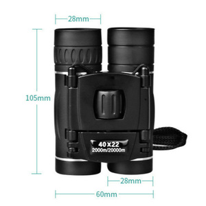 Image 3 - HD 40x22 Binoculars Professional Hunting Telescope Zoom High Quality Vision No Infrared Eyepiece Outdoor Trave Telescope
